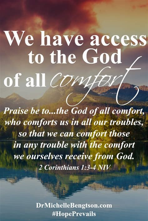 god of all comfort verse hope prevails book corinthian mental health and scriptures