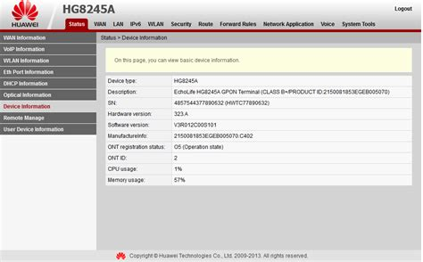 Modem Huawei Indihome cara setting modem telkom speedy huawei hg8245a indihome