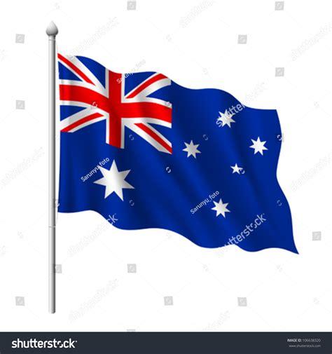 Email Address Search Australia Flag Of Australia Vector Illustration 106638320