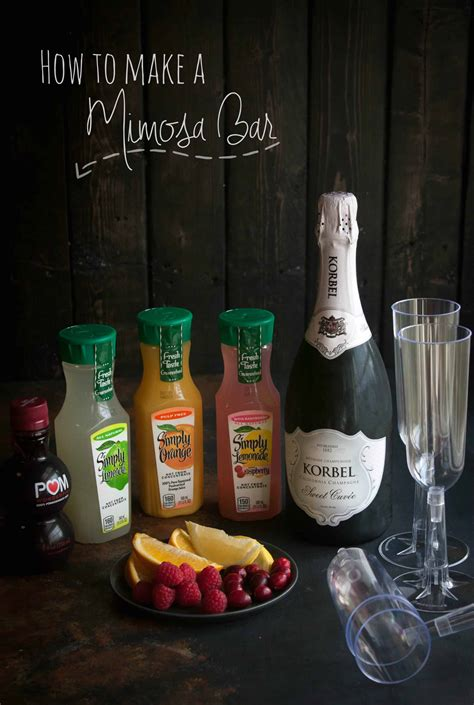 how to make a mimosa bar sweetphi