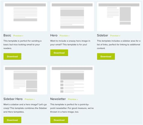 900 Free Responsive Email Templates To Help You Start With Email Design Basic Responsive Email Template