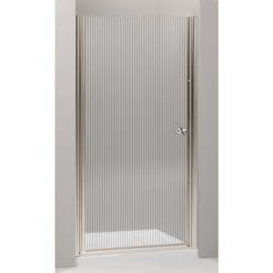 5 shower door shop kohler fluence 37 5 in to 39 in frameless pivot