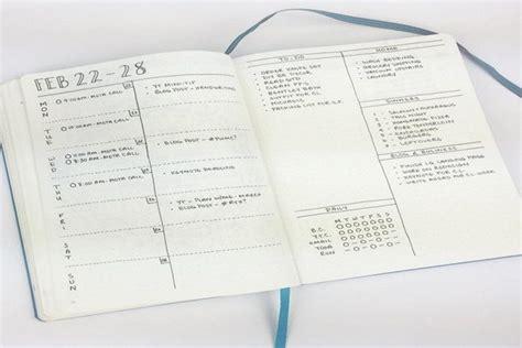 jurnal tata letak layout bullet journal cara baru membuat jurnal efisien anti boring
