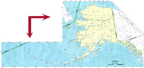 map usa with alaska alaska base map
