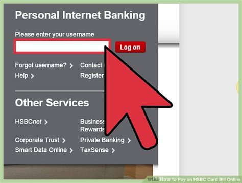 how to make hsbc card payment how to pay an hsbc card bill 9 steps with pictures