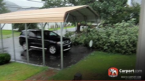 one car carport certified one car carport 16 wide x 21 x 8 high