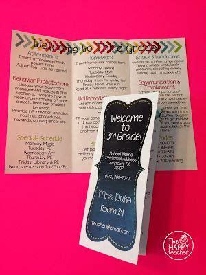 25 Best Ideas About Open House Brochure On Pinterest Open House Night Back To School Parent Brochure Templates
