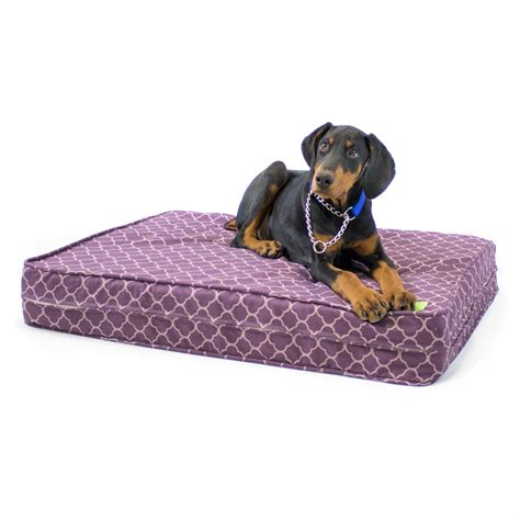 rubber dog bed natural latex orthopedic dog bed waterproof encasement