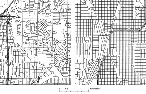 grid pattern streets quick comparisons between toronto s and chicago s street