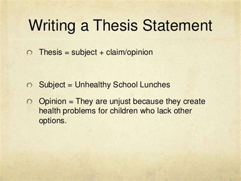 Value Of Essay Exle by Thesis Claim Exle 28 Images Tips And Exles For Writing Thesis Statements Ppt Claim Of Value
