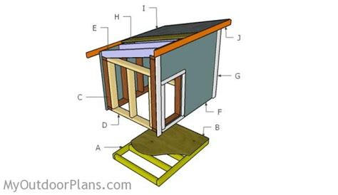 building a dog house plans dog house plans for large dog myoutdoorplans free woodworking plans and projects