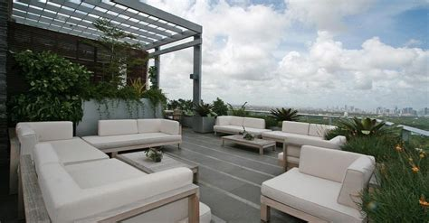 penthouse terrace grovenor house 17 million penthouse in miami 22 pics