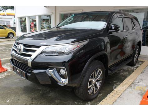 Fortuner Black toyota fortuner 2017 srz 2 7 in kuala lumpur automatic suv