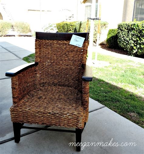 how to repair a rattan chair what meegan makes