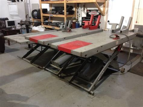 motorcycle lift table for sale 4 motorcycle handy air lift tables for sale in clermont
