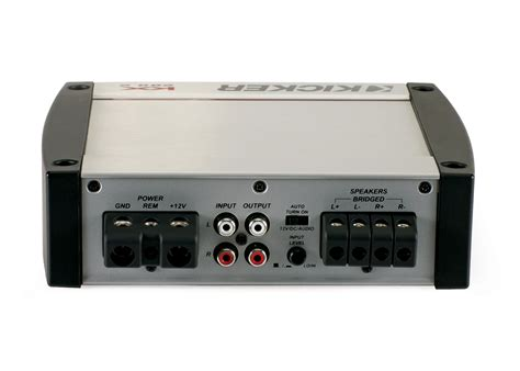 kicker audio kx kx  channel car  amp  full