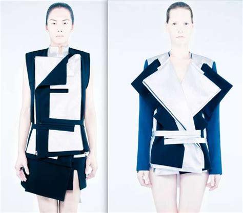 Kalung Fashion Geometry Shape Design shape shifting fashion rad hourani