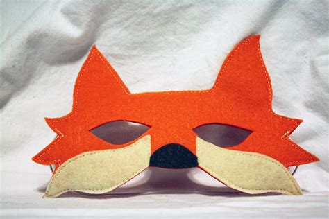 How To Make A Fox Mask Out Of Paper - pin fox mask on