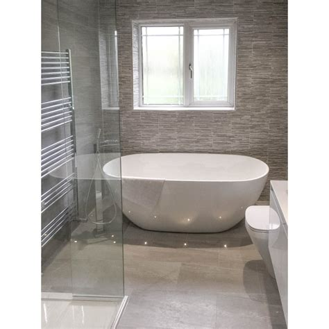 tiled bathroom strata grey tiled bathroom finishing touches