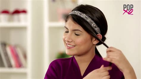 Hair Band 3 easy hair band hairstyles pretty hairstyles for