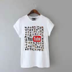 Youtube t shirt youtubers tumblr from gemashi on ebay things to