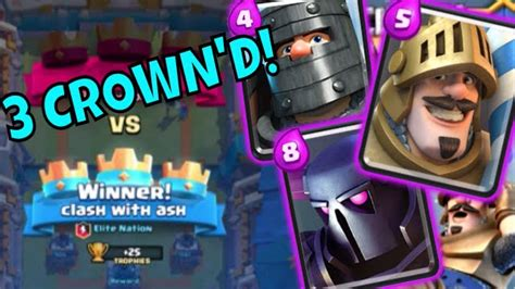 clash royale best 3 crown deck pekka prince prince combo