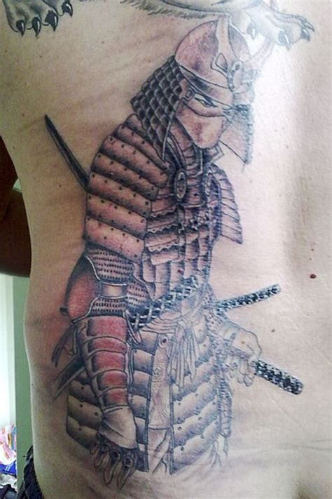 tribal samurai tattoo 46 best images about tatouage on skull sleeve