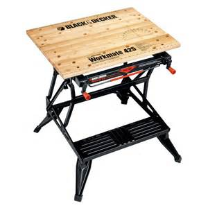 Benchmark Portable Work Bench Black Amp Decker Workmate Portable Wood Work Bench Lowe S