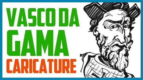 yuo vasco vasco da gama caricature speed drawing a caricature of