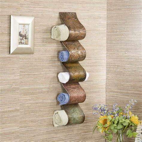 Ways To Hang Towels In Bathroom » Home Design 2017