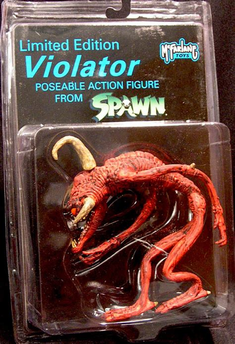 Mcfarlane Spawn Violator Black Special Edition limited edition violator poseable figure spawn