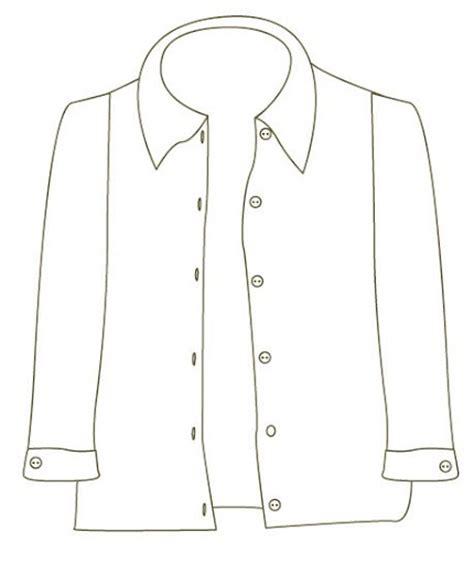 camisa y corbata para colorear camisa y corbata para colorear camisa dibujalia dibujos