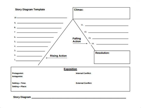 search results for free plot diagram template calendar