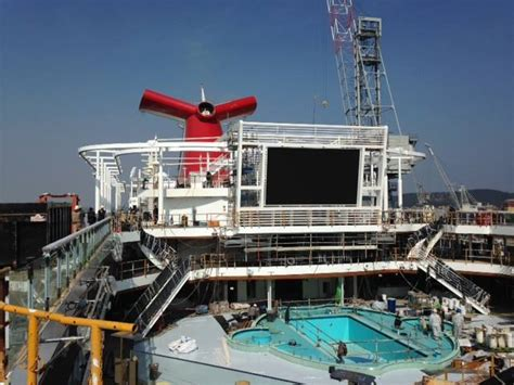 first inside look at carnival cruise line s newest cruise ship