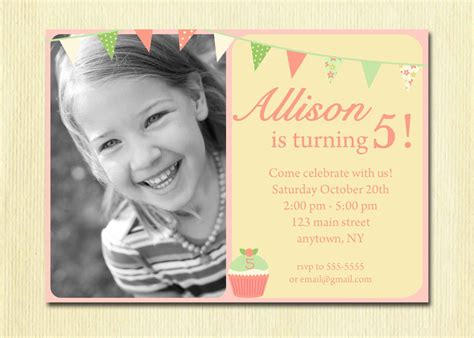 Spot It Card Template For 3 Year Olds by 5 Year Birthday Invitation Wording Dolanpedia