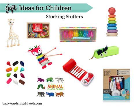 ideas for stocking stuffers gift ideas for children stocking stuffers