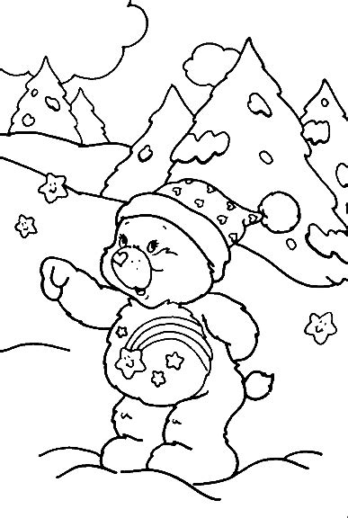 winter bear coloring page interactive magazine bear in winter coloring pages