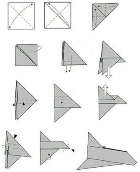 10 Ways To Make Paper Airplanes - how to make a paper airplane 11 ways how2db