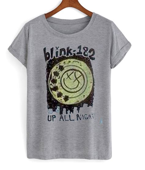 Kaos Blink 182 Dtg Print blink 182 up all t shirt