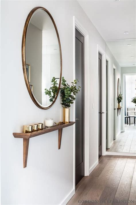 small hallway decor ideas best 25 mirrors ideas on decorative
