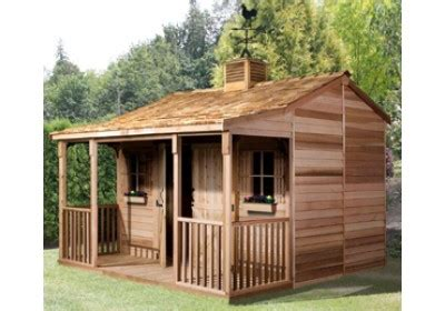 Backyard Cottage by Sheds With Porches Wood Sheds With Porches