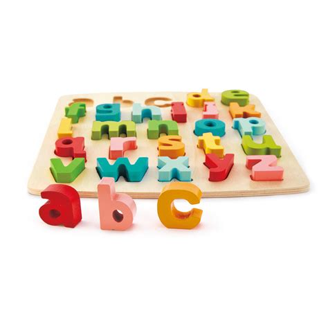 Chunky Puzzle Lowercase by Chunky Lowercase Puzzle E1552 Hape Toys