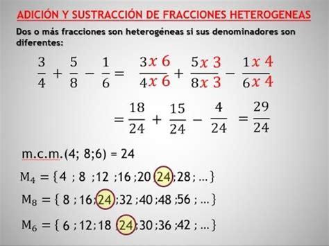 suma y resta de fraccionarios para nios de tercer grado adicion y sustraccion de fracciones o racionales youtube