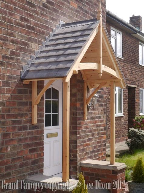timber door canopy timber door porch things for the home