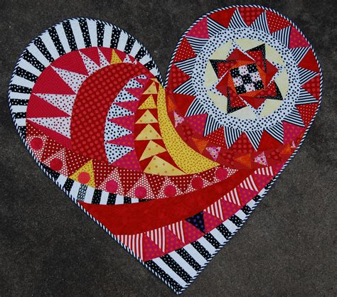 heart shaped quilt pattern the newest heart quilt by janice schindeler posted by