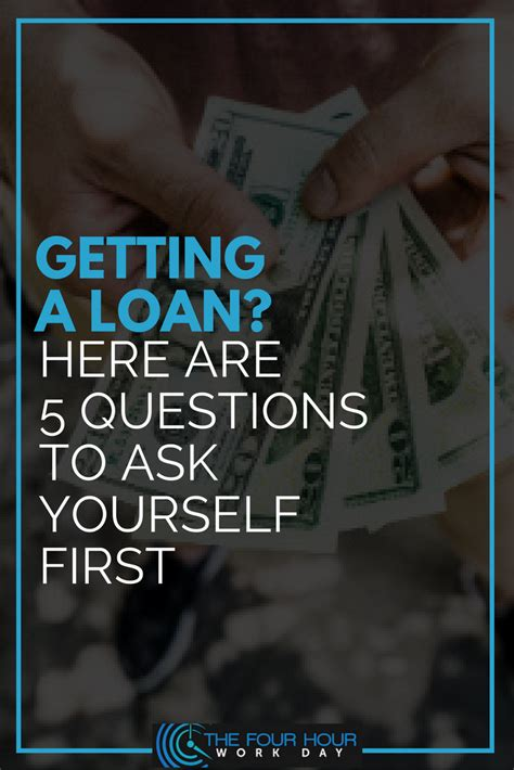 personal loan the four hour work day