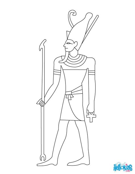 Pharaoh Of Egypt Online For Free Coloring Pages Pharaoh Coloring Pages