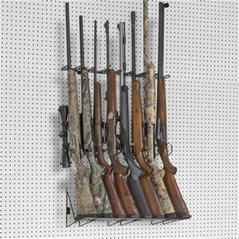 Pegboard Gun Rack by Peg Board Gun Displays Page 2 Rack Em Racks