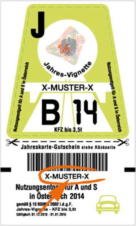 Sterreich Vignette Motorrad by Maut In 214 Sterreich Vignette Bzw Pickerl In 214 Sterreich