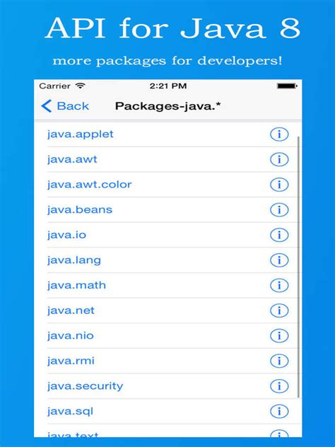 best api documentation api for java 8 app ranking and store data app